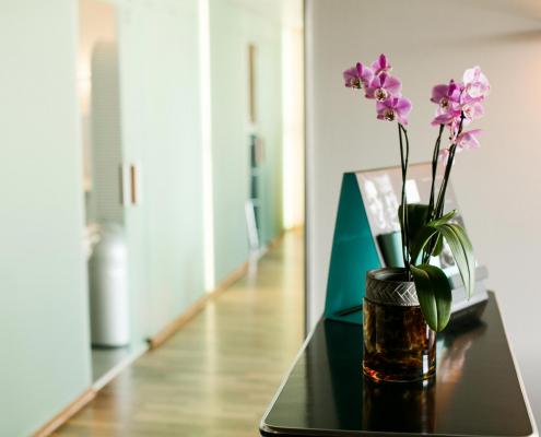 Wartezimmer - Zahnarztpraxis Dr. Baudermann